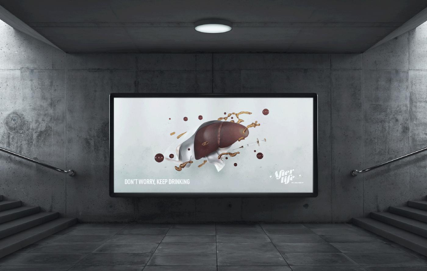 afterlife mockup metro subway mupi advertising
